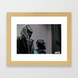 New Generation of Rebels Framed Art Print
