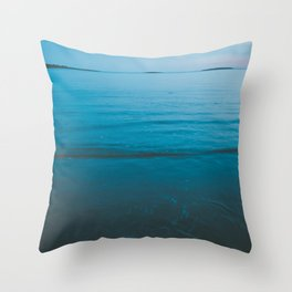 Summer of Love by the Sea II Throw Pillow