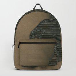 Burned Cardboard Backpack