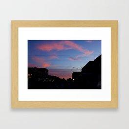 7th & Main (colour) Framed Art Print