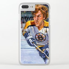 Bobby Orr: Game Changer Clear iPhone Case