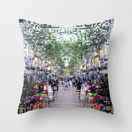 feeling proximity without unrest or unruly burdens Throw Pillow