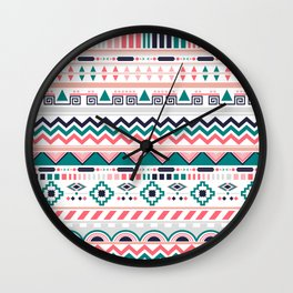 winter ethnic Wall Clock