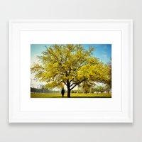 ashton irwin Framed Art Prints featuring Ashton by Justin Joe Vandiver