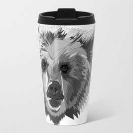 BEAR CUBISM Travel Mug