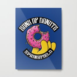 Sons Of Donuts / Simpsons / Donuts Metal Print