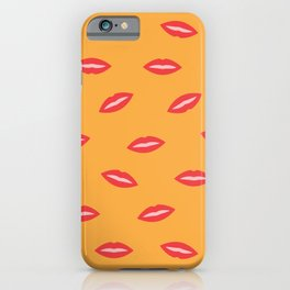 Candy Red Lips iPhone Case