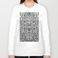 matrix Long Sleeve T-shirts featuring triangular matrix by westchestrian_art
