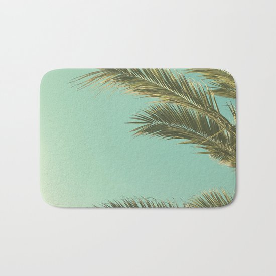 Autumn Palms II Bath Mat