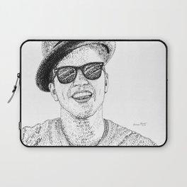 BrunoMars - Word Art Laptop Sleeve
