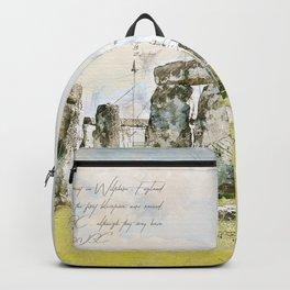 Stonehenge, England Backpack