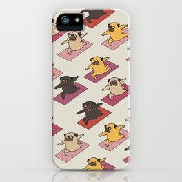 Pugs Warrior iPhone Case
