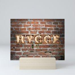 Hygge -  Brick Mini Art Print