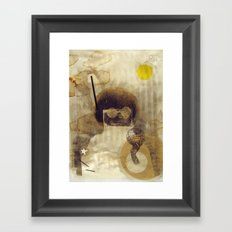 bcsm 001 (captain) Framed Art Print
