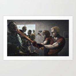 Zombies!! Art Print