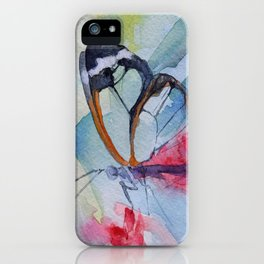 Butterfly 10 iPhone Case