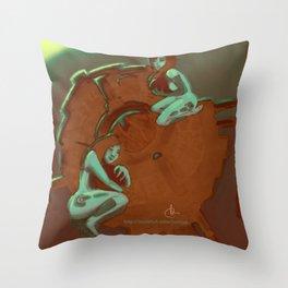SOLAR-REACTOR Throw Pillow