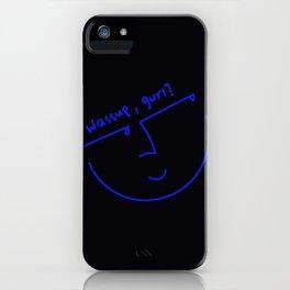 wassup, gurl? iPhone Case