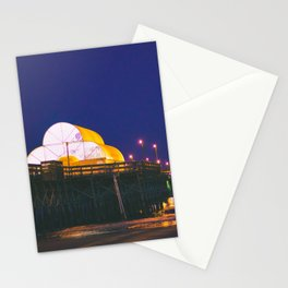 Myrtle Beach Pier at Dusk Stationery Cards