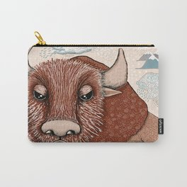 American Buffalo Bison Southwest Southwestern Carry-All Pouch