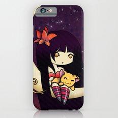 Golden Butterfly Moon Slim Case iPhone 6s