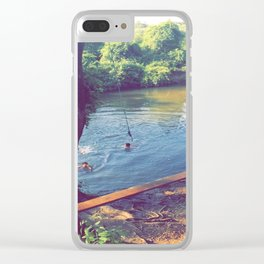 Goose Creek Clear iPhone Case