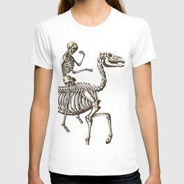 Horse Skeleton & Rider T-shirt