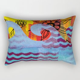 Ahoy There Rectangular Pillow