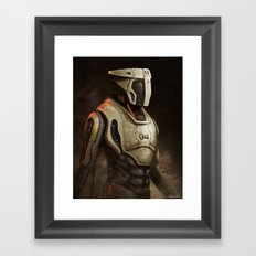 Sergeant Framed Art Print