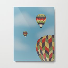 Up, Up, and Away! Metal Print