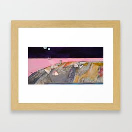 Nisja: the night train 11 Framed Art Print