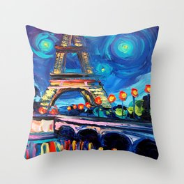Seine Throw Pillow