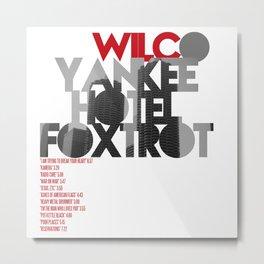 Yankee Hotel Foxtrot - Wilco / Album Cover Art LP Poster (Paper or Plexiglas) Metal Print