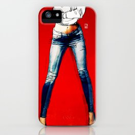 American Woman iPhone Case