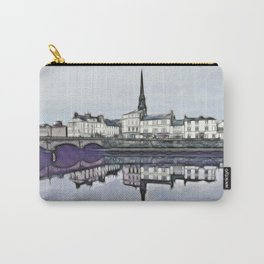 Ayr Town Centre Fractal  Carry-All Pouch