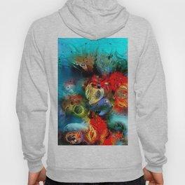 Coral Reef Red 444 Hoody