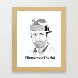 Mee-lah (Remember the Hat) Framed Art Print