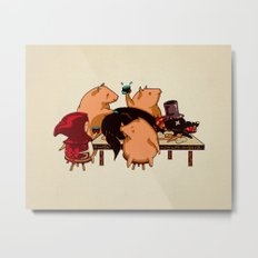 Dinner With Friends Metal Print