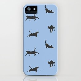 Kitty Stretch iPhone Case