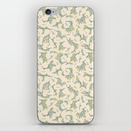 Pastel Flowering Branches iPhone Skin