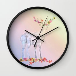 Poetry pic Wall Clock