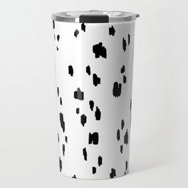 Snow Leopard - Pure White Travel Mug