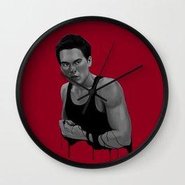 Bad Blood V Wall Clock