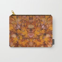Autumn leaves in abstract Carry-All Pouch