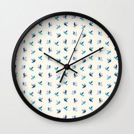 Dashland Doves Light Wall Clock