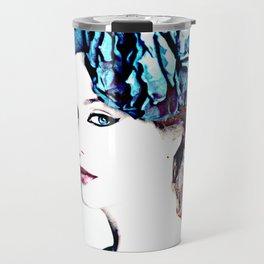christina hendricks Travel Mug
