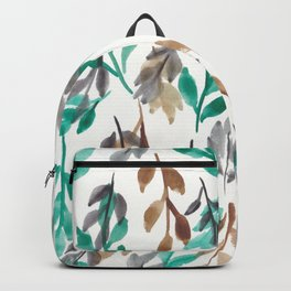 180726 Abstract Leaves Botanical 2|Botanical Illustrations Backpack