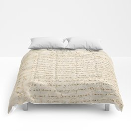 French Contract 1697 Comforters