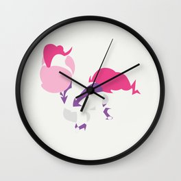 My Little Pony - Minimal Pinkie Pie as Fili-Second Wall Clock
