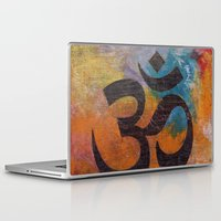 om Laptop & iPad Skins featuring Om by Michael Creese
